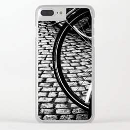 Squares And Circles Clear iPhone Case