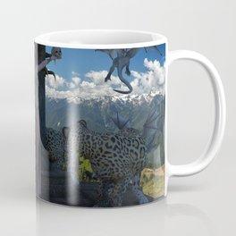 sacrificio con jaguares Coffee Mug