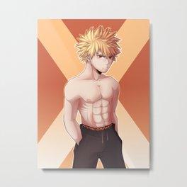Bakugou Kasuki Boku no Hero Academia Metal Print