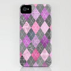 Magic Argyle Quilt iPhone (4, 4s) Slim Case