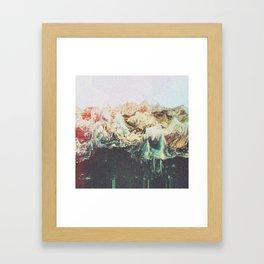 grūmbł Framed Art Print