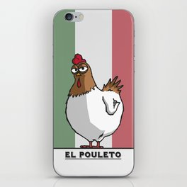 El Pouleto iPhone Skin