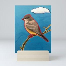 Say's Phoebe Mini Art Print