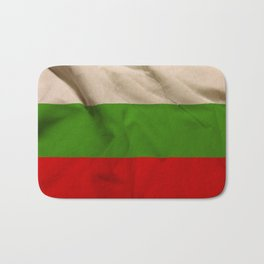 Bulgarian flag Bath Mat