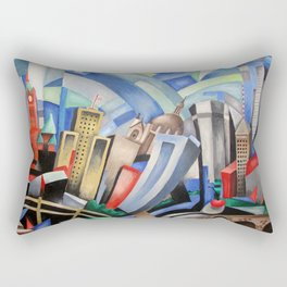Twin Cities Rectangular Pillow