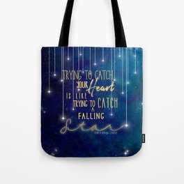 Catch a falling star-Howl's Moving Castle Tote Bag