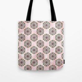 Botanical Mandala Tote Bag