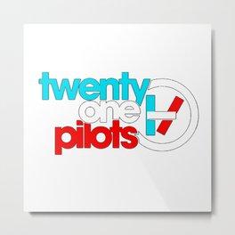 Twenty one pilotsLogo Metal Print