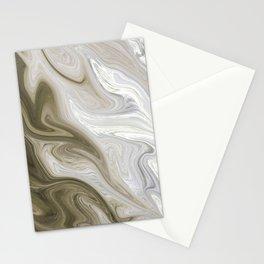 Pastel Brown & Beige Stationery Cards