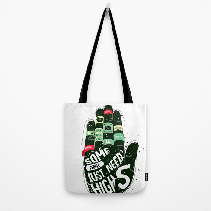 HIGH - FIVE Tote Bag