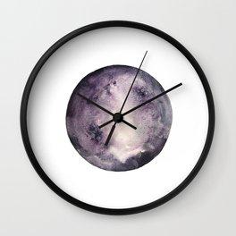 Lunar Violet Wall Clock
