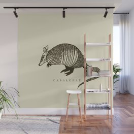 Armadillo power Wall Mural