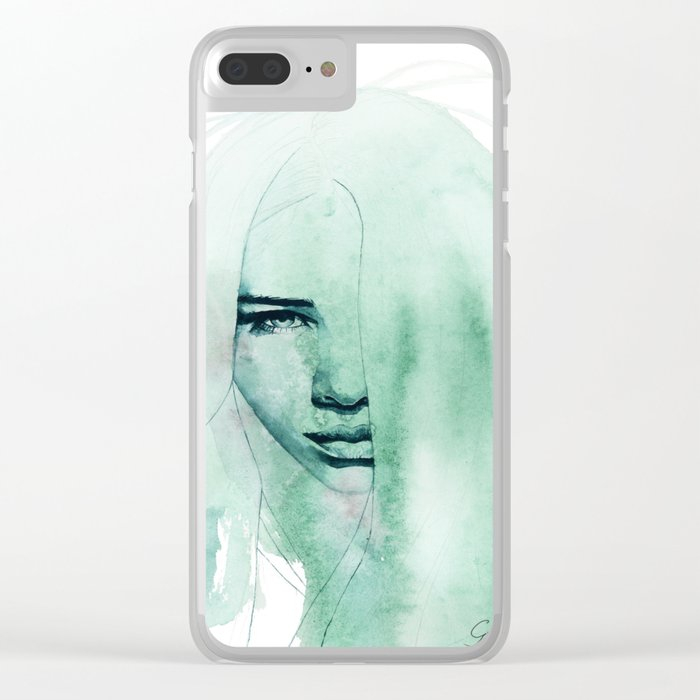 conversion Clear iPhone Case