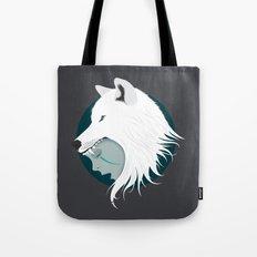Boy Cries Wolf (White) Tote Bag