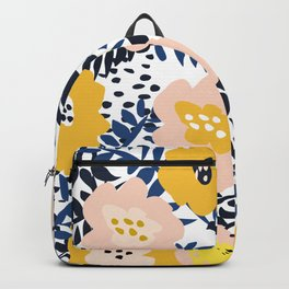 Outdoor: florals matching to design for a happy life Backpack