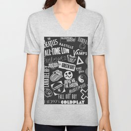 Rock Bands Unisex V-Neck