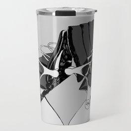 Airport Chairs Grey Travel Mug