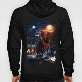XIV. Temperance Tarot Card Illustration (Color) Hoody