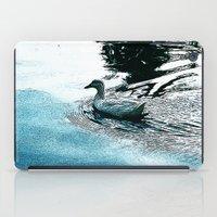 swim iPad Cases featuring Swim by MaximusMax76