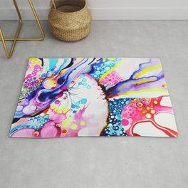 Infinite Flare - Watercolor Painting Rug