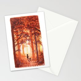 Golden October Stationery Cards