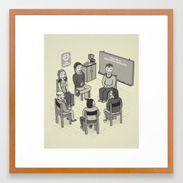 AA Framed Art Print