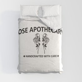 Rose Apothecary hand crafted with care Comforters