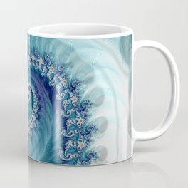 Sound of Seashell - Fractal Art Coffee Mug