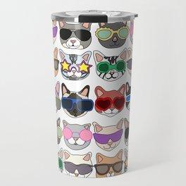 Hollywood Cats Travel Mug