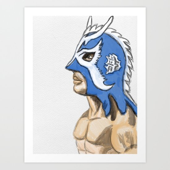 Ultimo Dragon Art Print