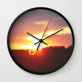 The Sunrise—Sire—compelleth Me— Wall Clock