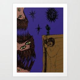 Decaying Wonderland VII Art Print