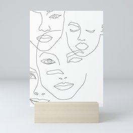 Different beauty Mini Art Print