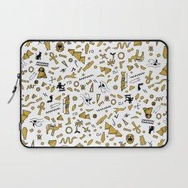 Egyptian Mini Hieroglyphics Laptop Sleeve