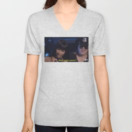 WHAT'S REALLY GOOD MILEY Unisex V-Neck