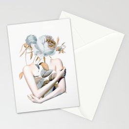 Inner beauty-collage 2 Stationery Cards