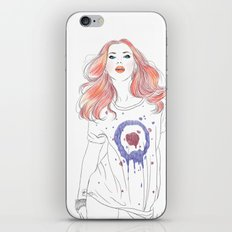 Scarlet  iPhone & iPod Skin