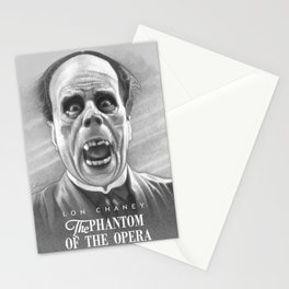 Lon Chaney - Eric Unmasked Stationery Cards