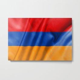 Armenia Flag Metal Print