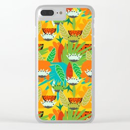 Watermelons and carrots Clear iPhone Case