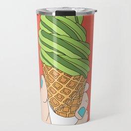 Matcha Ice Cream! Travel Mug