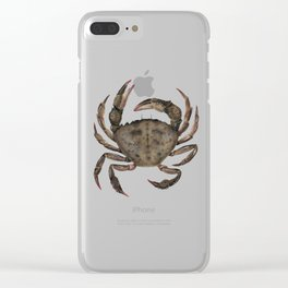 Green Crab Clear iPhone Case