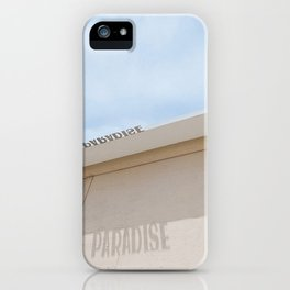 Jersey Shore Asbury Park Paradise iPhone Case