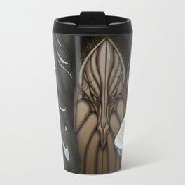 The White Dragon Lair Travel Mug