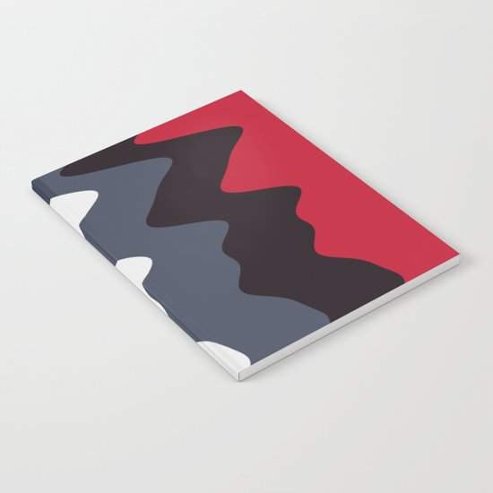 Abstract lines 23 Notebook