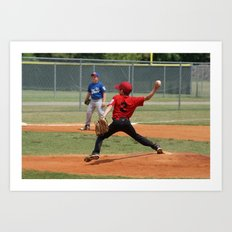2012 Little League All-star Baseball Richmond Hill Ga.  Art Print