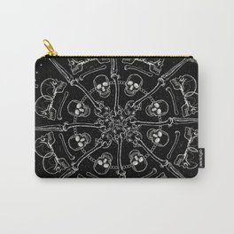 """""""Young Heart"""" - We are the ocean // black mandala Carry-All Pouch"""