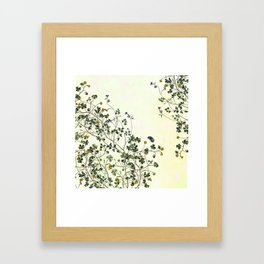 The cultivation of wild Framed Art Print