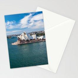 Sydney Harbor and Sydney Opera House Stationery Cards