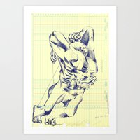 grid Art Prints featuring GRID by Juan Antonio Zamarripa [Esqueda]